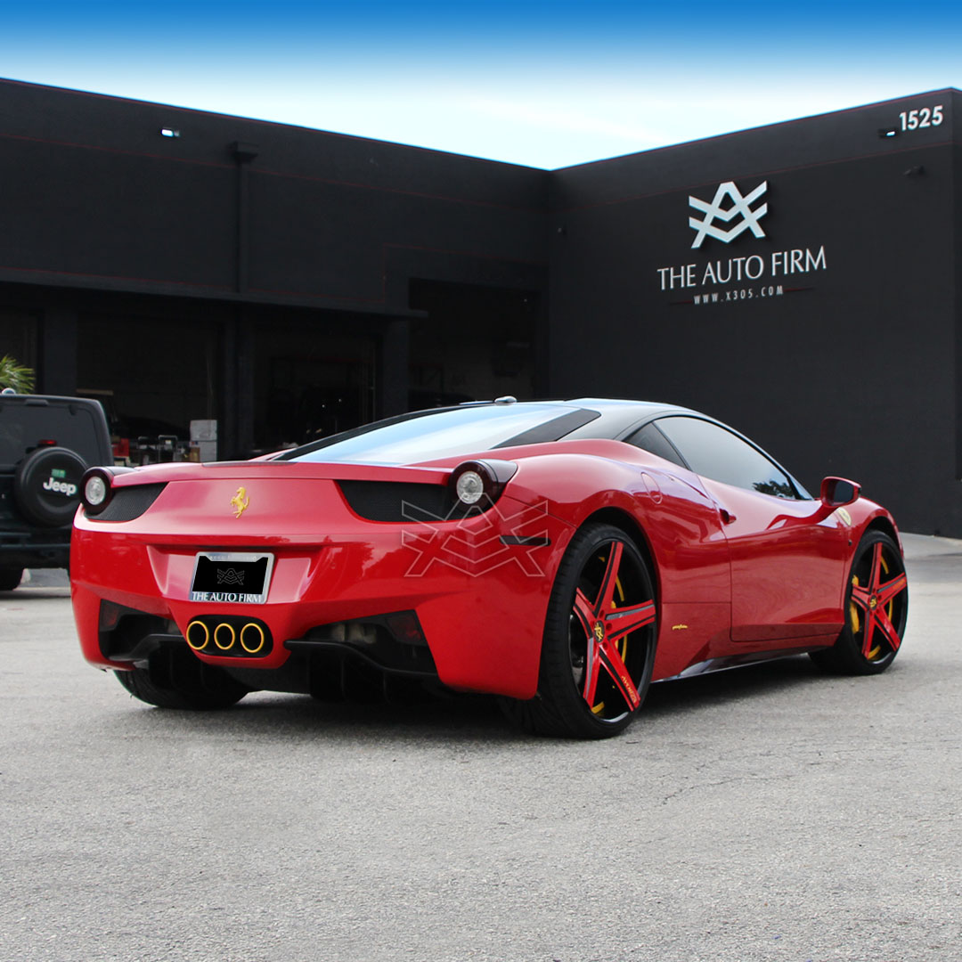 Ferrari 458 The Auto Firm