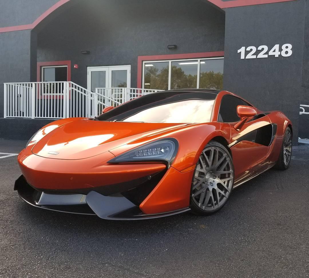 2019 Mclaren 570s 570gt: McLaren 570GT For Vladimir Gutierrez Of The Cincinnati