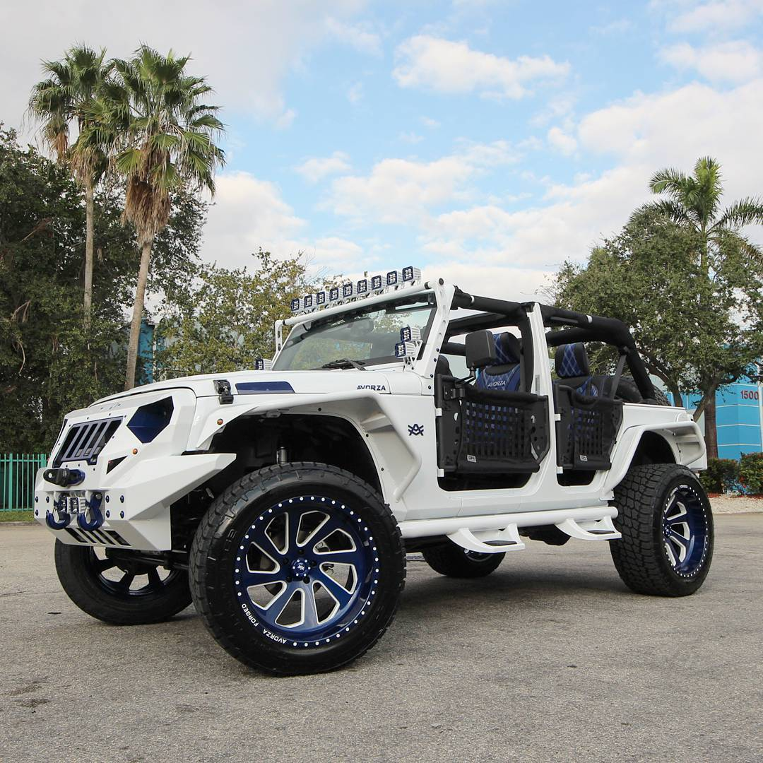 Jeep Wrangler Miami: Jeep Wrangler GS Edition For Gary Sanchez Of The New York