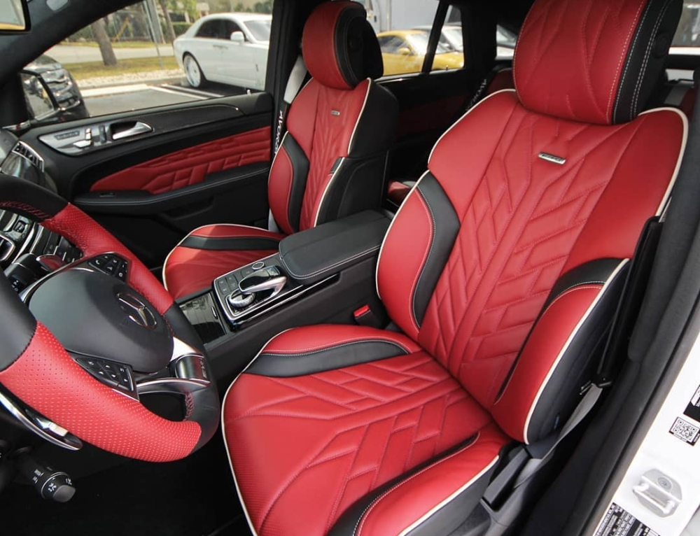 Mercedes Benz Custom Interior for Rusney Castillo of the Boston Red Sox