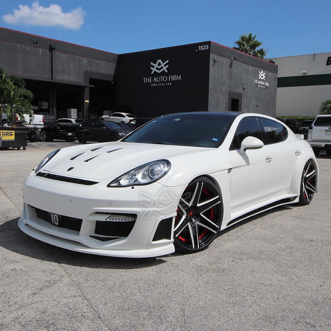 Cars For Sale Miami >> Porsche Panamera Turbo done for Alexei Ramirez - The Auto Firm