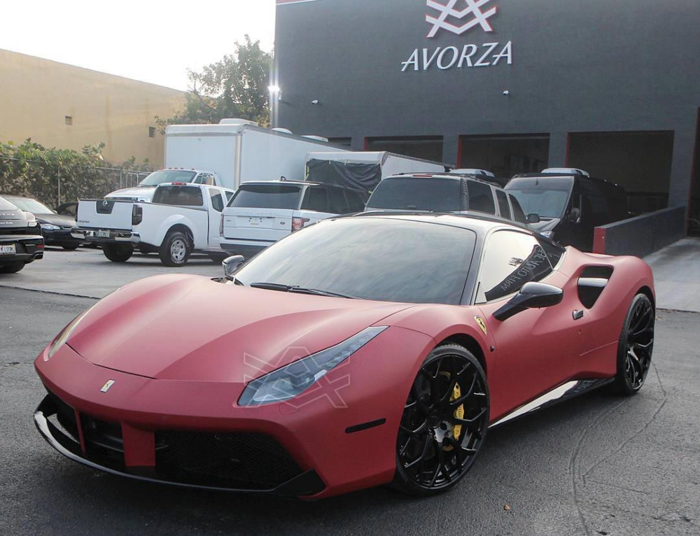Ferrari 488 GTB for Carlos Carrasco of the Cleveland Indians