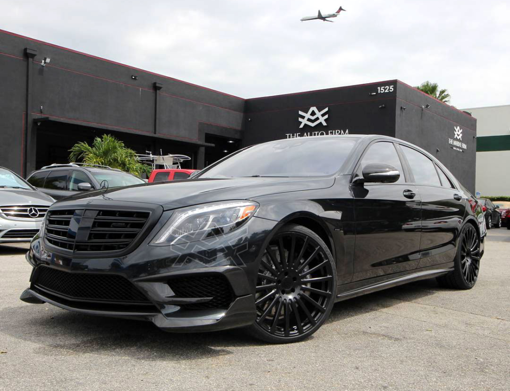 2017 Mercedes Benz S 65 Edition All Blacked Out