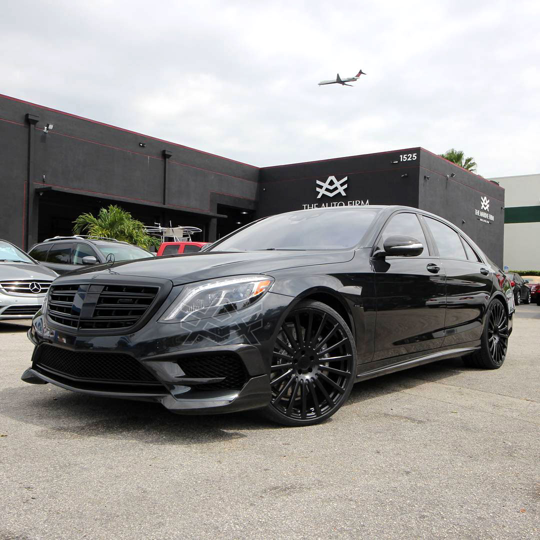 Verwonderend 2017 Mercedes Benz S 65 Edition All Blacked Out - The Auto Firm TZ-32