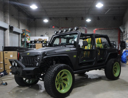Usain Bolt 2017 Jeep Wrangler Unlimited