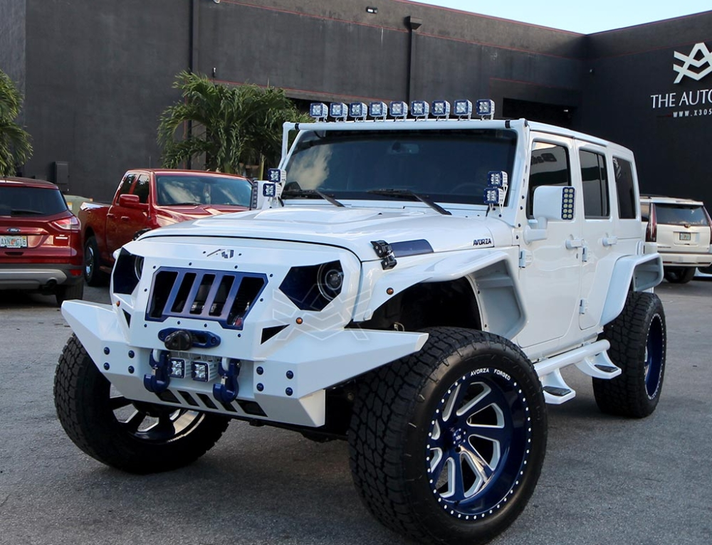 Gary Sanchez Avorza Jeep Wrangler GS Edition
