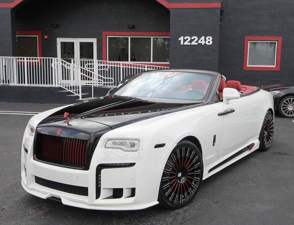 Johnny Cueto Rolls Royce Dawn