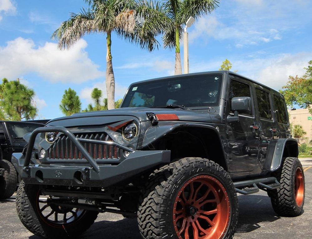 Jeep Wrangler done for Jhonatan Solano