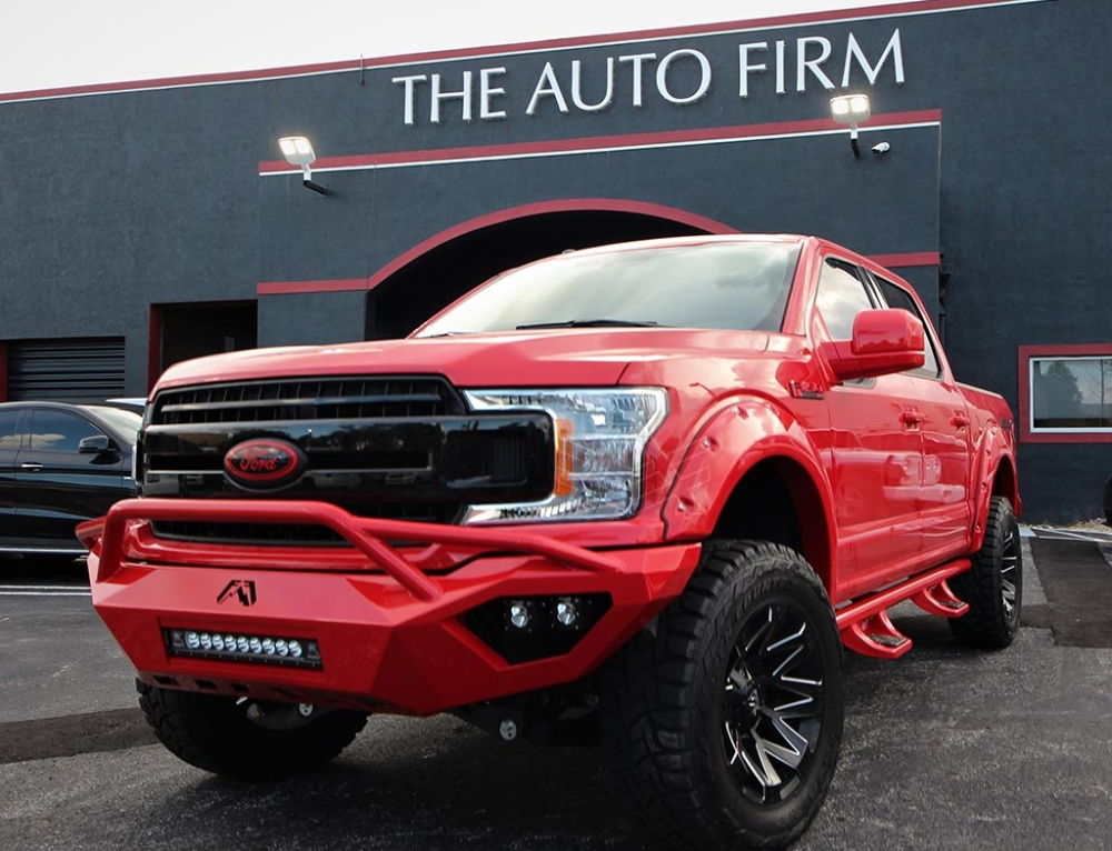 Ford F-150 done for Joey Lopez