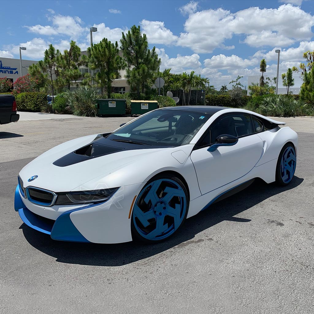 Bmw I8 Frozen Blue The Auto Firm